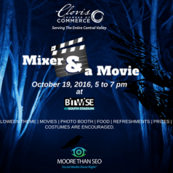 "Moore Than SEO Presents a Haunted ""Mixer & a Movie"" Night"